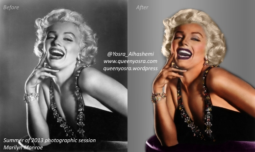 Summer of 2013 photographic session Marilyn Monroe !